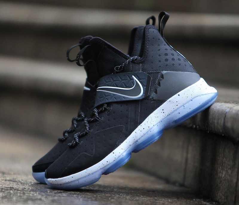Nike LeBron 14 Black Ice White