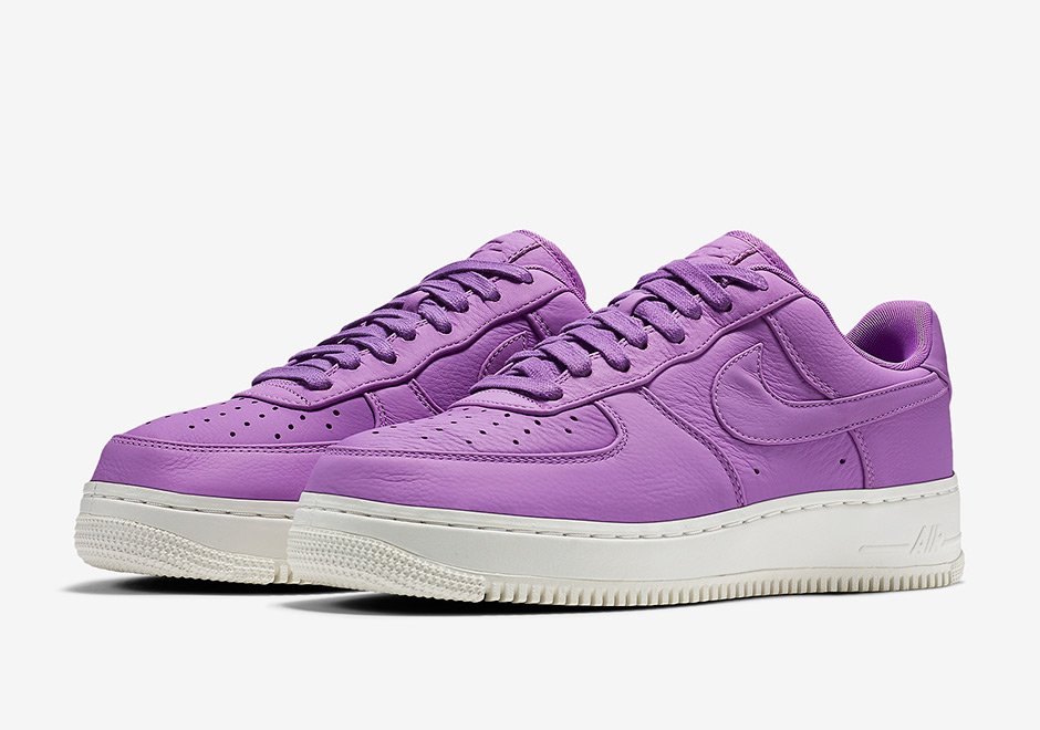 NikeLab Air Force 1 Low Purple Stardust Citron