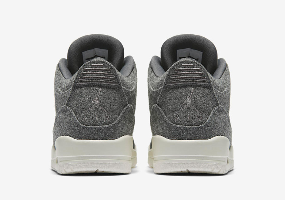 8ca74f6e441c8d Wool Air Jordan 3 Dark Grey Release Date - Sneaker Bar Detroit