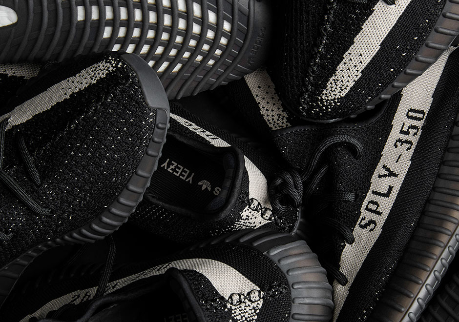 Yeezy Boost 350 V2 Black White Release Date