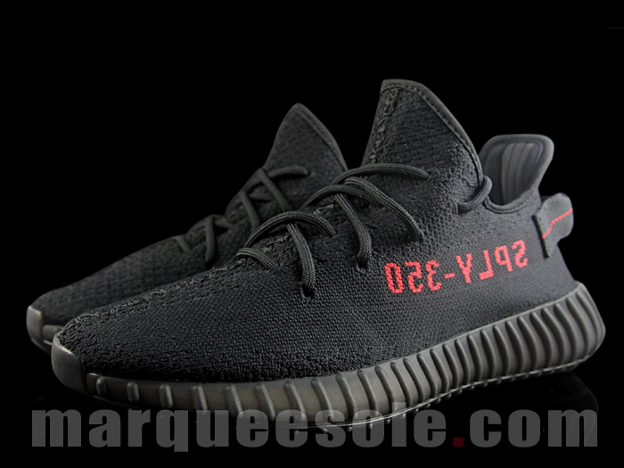 24f05e21193e5 Black Red Yeezy Boost 350 V2 CP9652 - Sneaker Bar Detroit