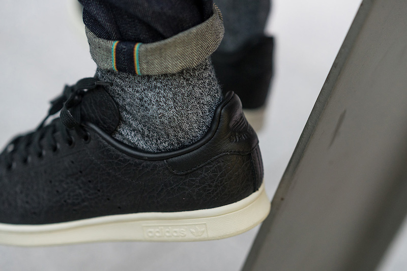 adidas Stan Smith Black Quilted Leather BB0037