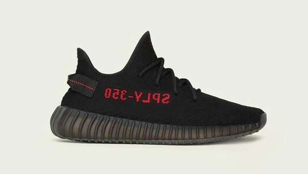 adidas Yeezy 350 Boost V2 Black Red Bred Release Date