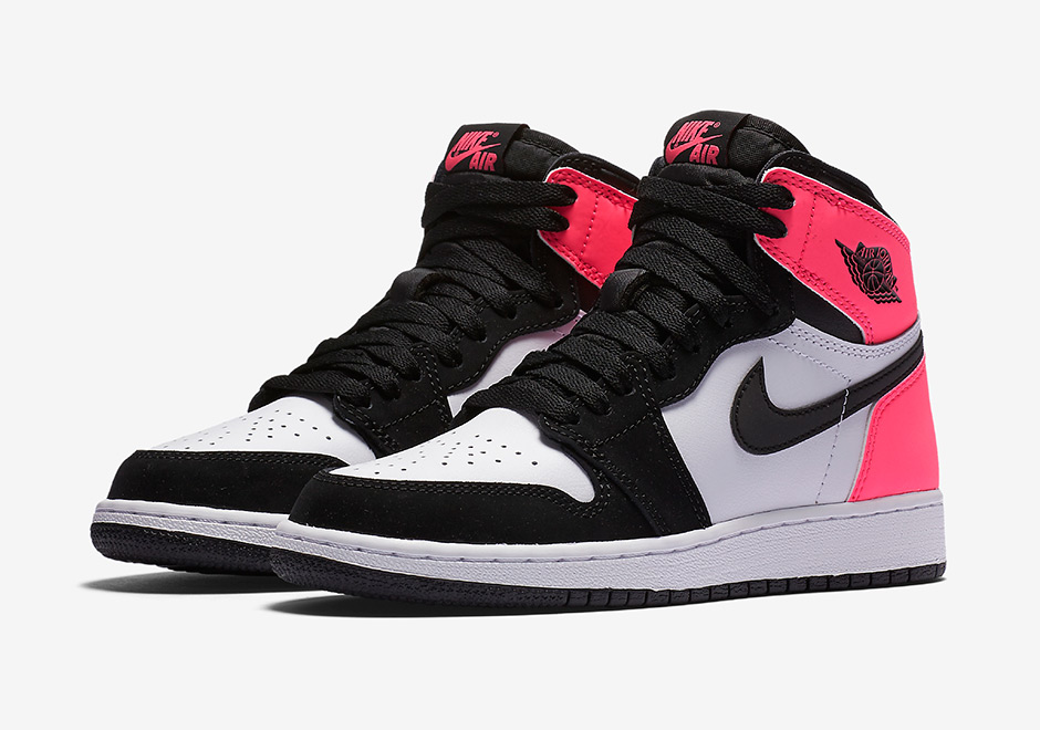 "d72eb194530 Air Jordan 1 Retro High OG GS ""Valentine s Day"" Official Images"