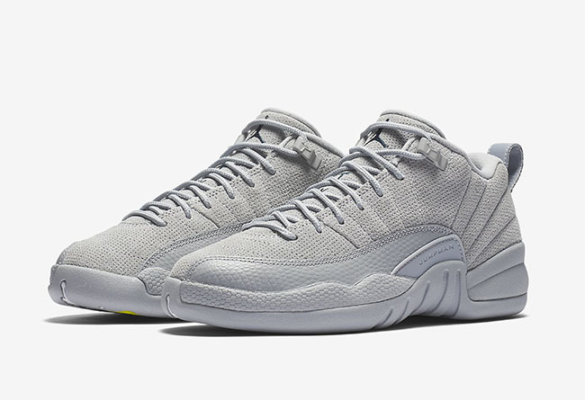 Air Jordan 12 Low Wolf Grey Release Date