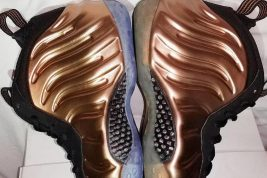 Copper Nike Foamposite 2017 2010 Comparison