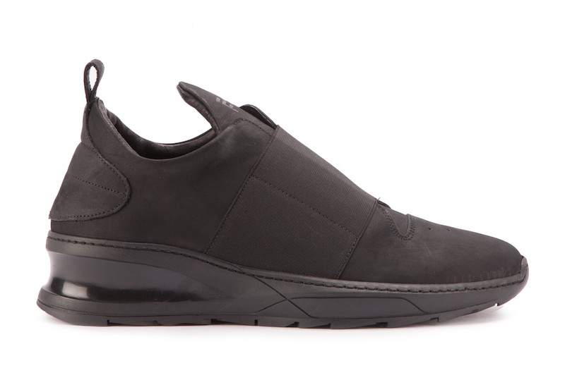 Filling Pieces Steel Runner Strap Triple Black