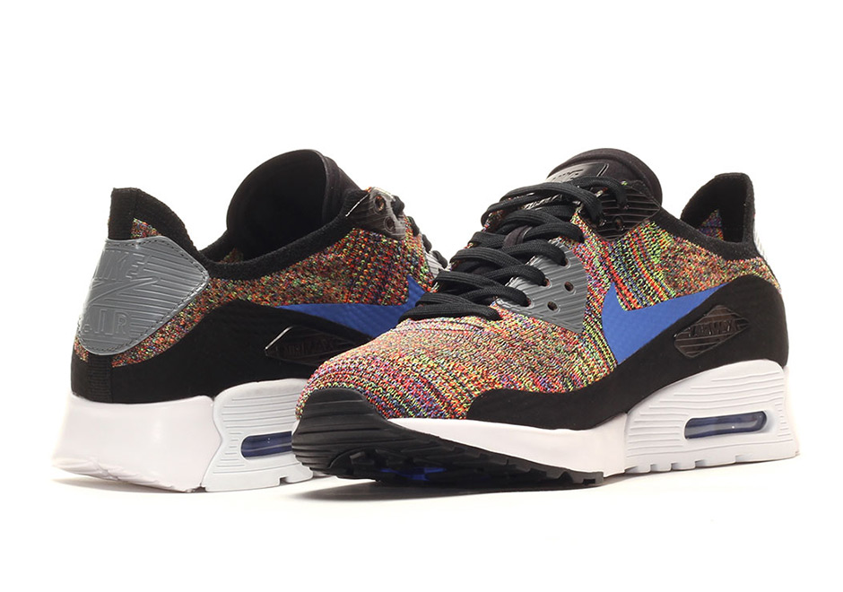 Nike Air Max 90 Ultra Flyknit Multicolor 881109-001