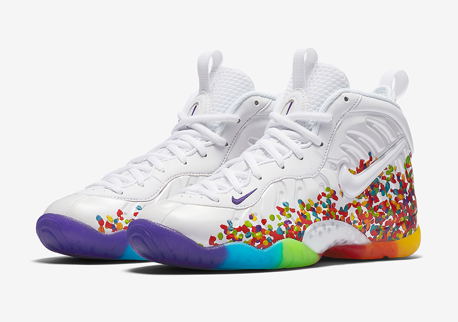 d1e88ae78cc2 Nike Foamposite Pro Fruity Pebbles 644792-101 - Sneaker Bar Detroit