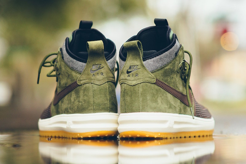Nike Lunar Force 1 Duckboot Brown Olive Gum