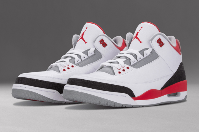 Air Jordan 3 Fire Red 2013 Release Date Sneaker Bar Detroit