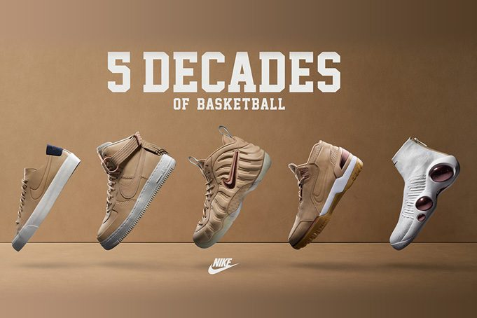 Nike 5 Decades of Basketball