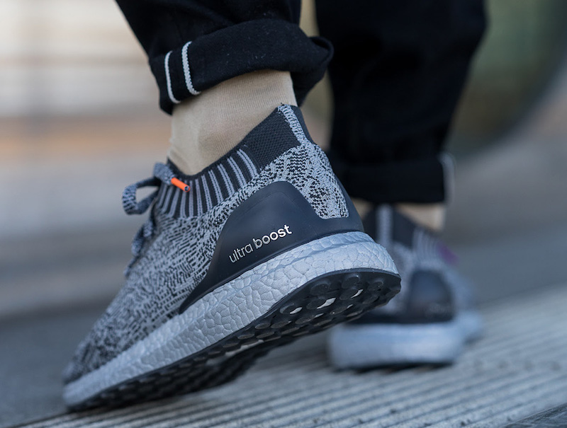 adidas Ultra Boost Uncaged Silver Boost On Feet
