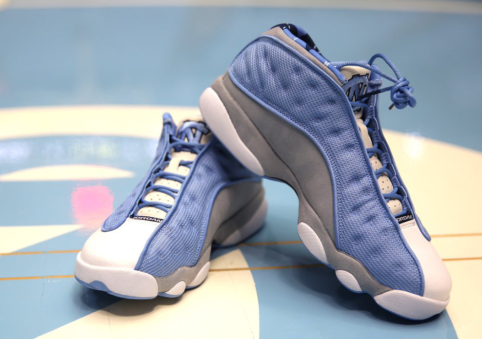 Air Jordan 13 Low UNC PE for March Madness