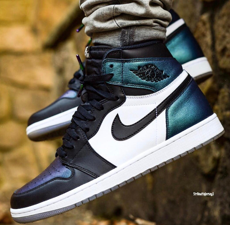 All-Star Air Jordan 1 On Feet