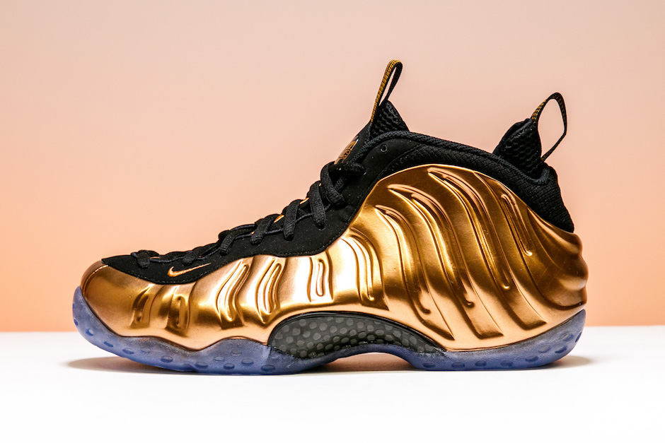Nike Air Foamposite Pro Metallic Copper 2017 Retro 314996-007