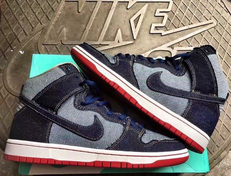 Nike SB Dunk High Denim Release Date