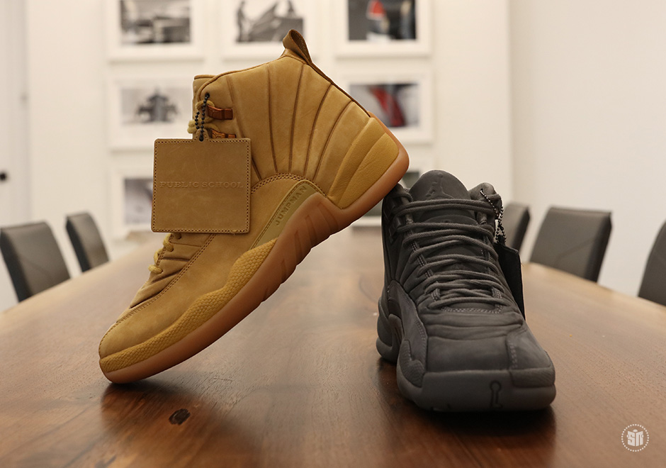 PSNY Air Jordan 12 Wheat Release Date