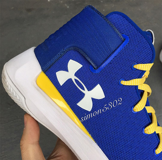 UA Curry 3.5 Golden State Warriors Dub Nation