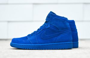 Air Jordan 1 Blue Suede 332550-404