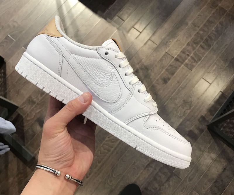 918ce9a0d20bdb Air Jordan 1 Low OG Premium White Vachetta Tan - Sneaker Bar Detroit
