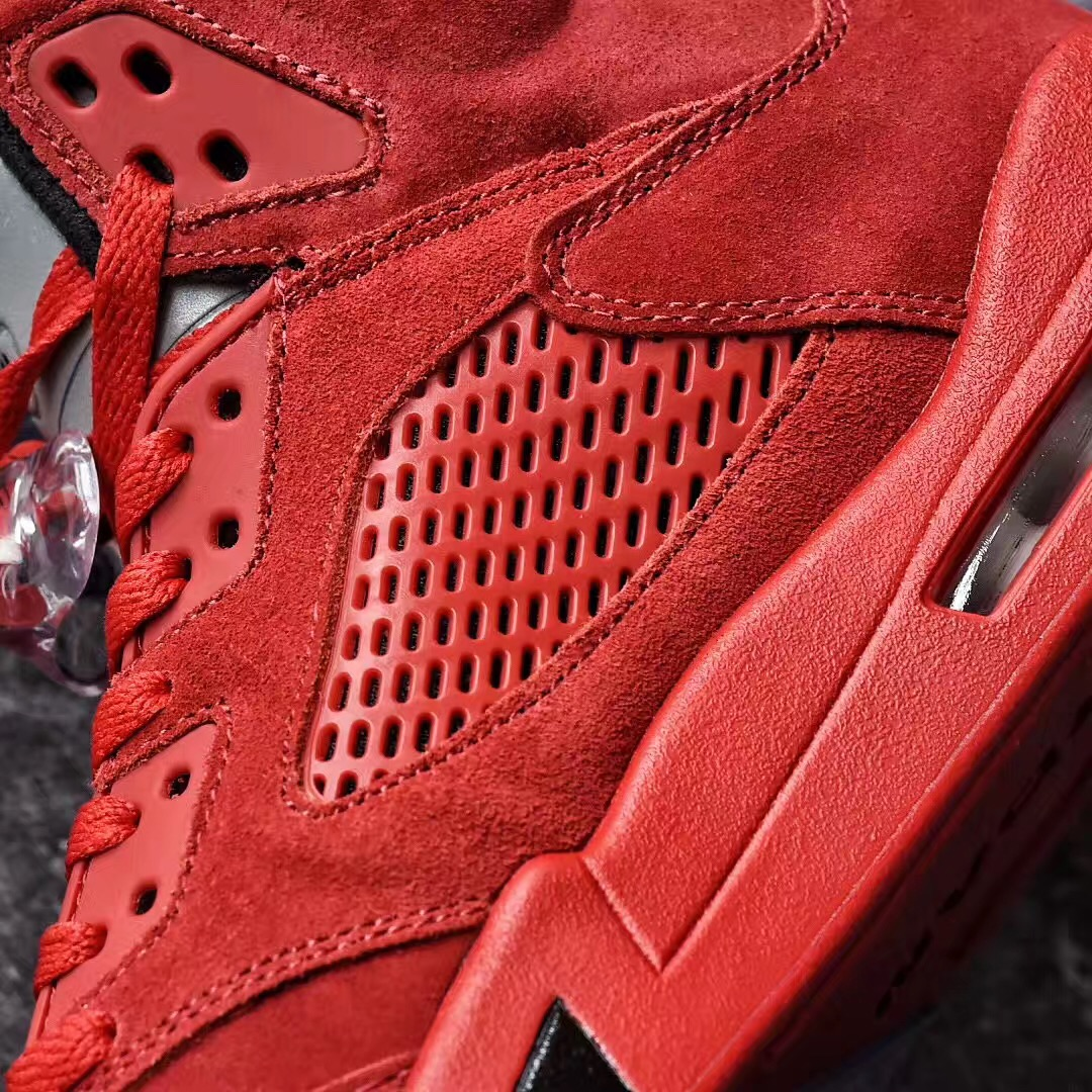 Air Jordan 5 University Red Suede 136027-602