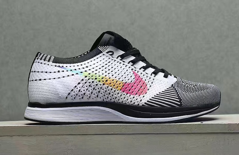 Be True Nike Flyknit Racer Multicolor Swoosh