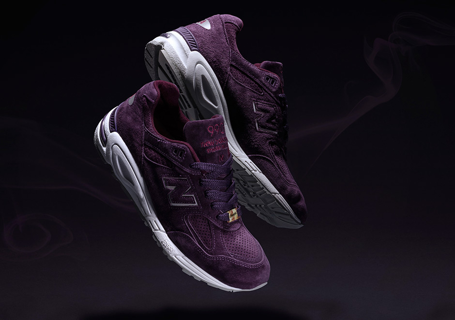 Concepts New Balance 990v2 Tyrian Purple