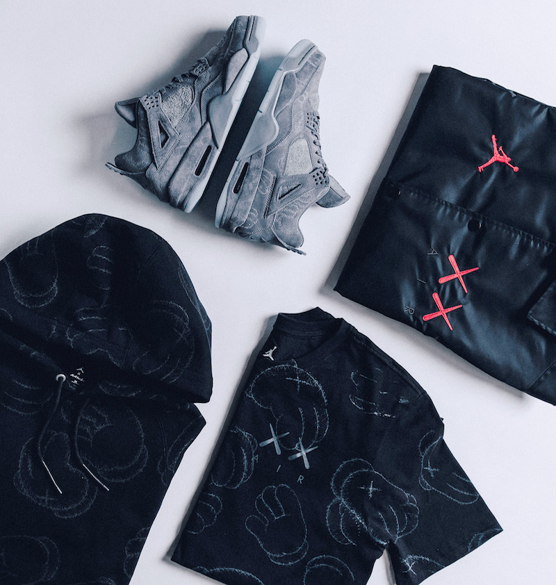 Jordan 4 KAWS Capsule Apparel Collection