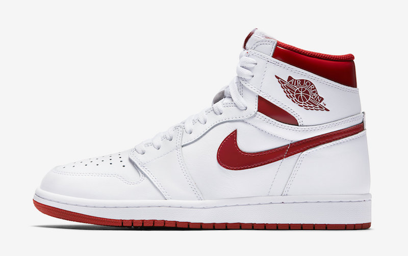 Metallic Red Air Jordan 1 Retro High 555088-103 Release Date Official Images