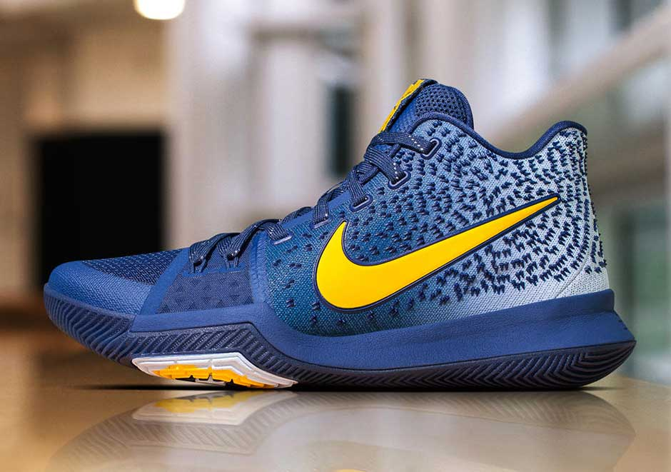 Nike Kyrie 3 PE Navy Blue Yellow