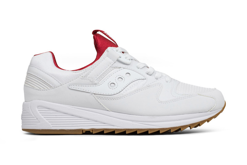 Saucony Grid 8500 White Red