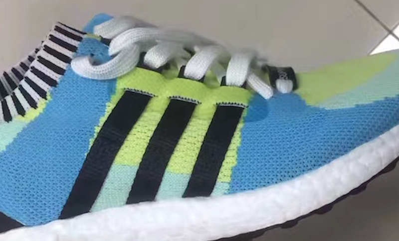 adidas EQT Support Ultra Boost Primeknit Green Blue Black
