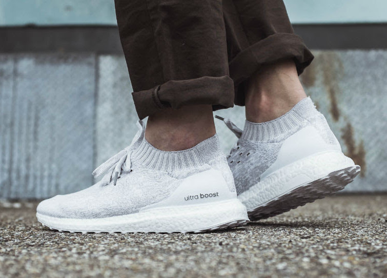 adidas Ultra Boost Uncaged White On-Foot