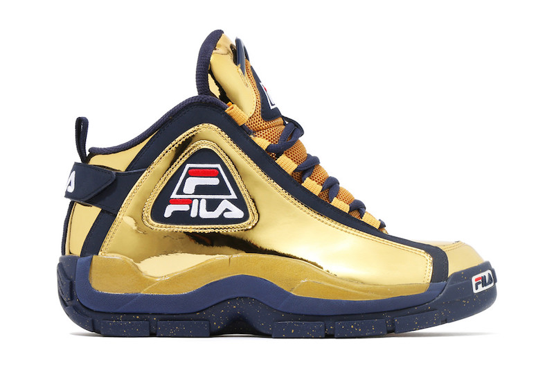"""sneakers for cheap 621ef 8f301 The Kinetics x FILA 96GL Gets Dipped in """"Metallic Gold"""""""