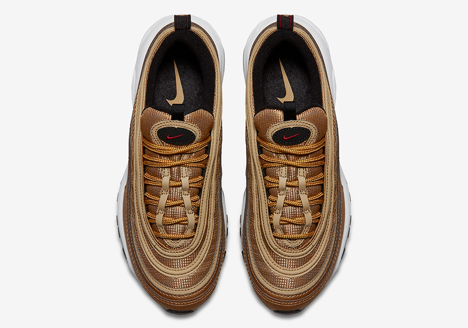 Nike Air Max 97 Metallic Gold Overview Insole