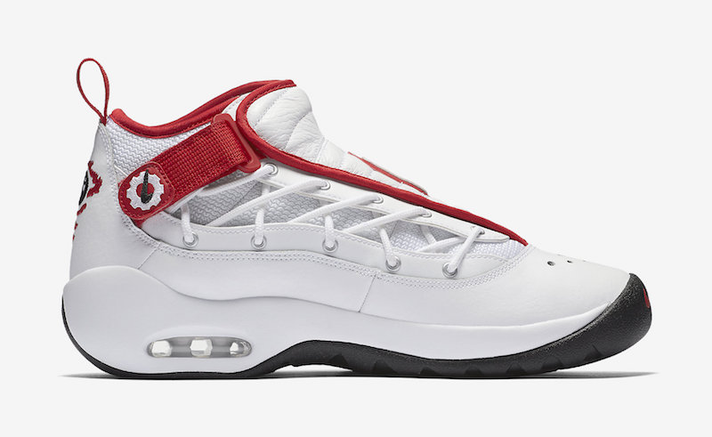 Nike Air Shake NDestrukt OG Bulls White Red 880869-100