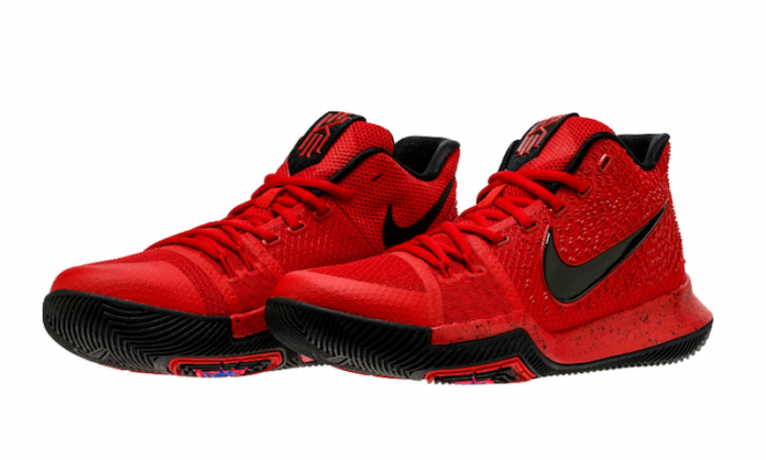 the latest 48cf5 efb77 Nike Kyrie 3 University Red Black 852395-600 - Sneaker Bar ...