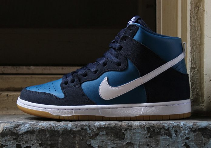 Nike SB Dunk High Obsidian Industrial Blue