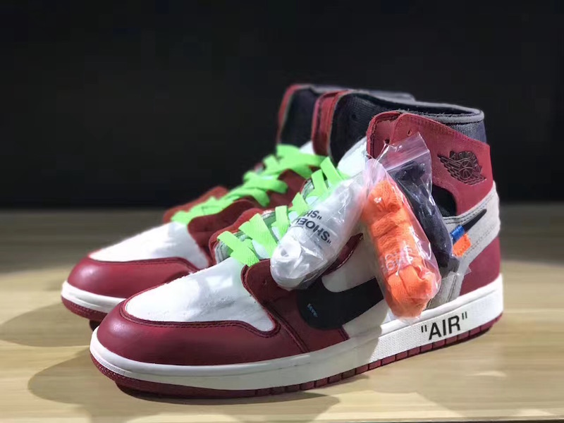 check out fbcc4 6e931 OFF-WHITE Air Jordan 1 Chicago Release Date - Sneaker Bar ...