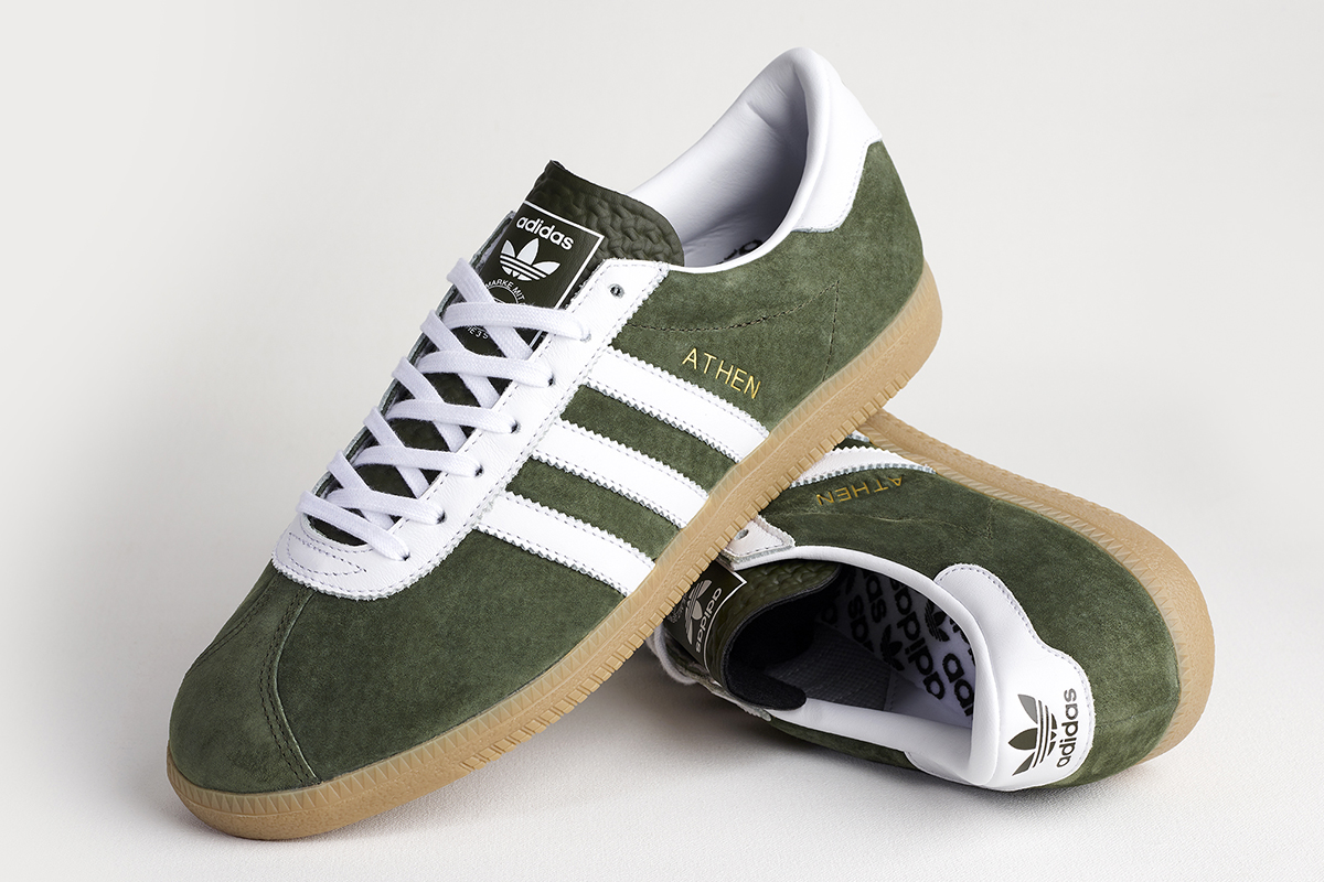 Adidas Athen Forest Green Size Exclusive Sneaker Bar Detroit