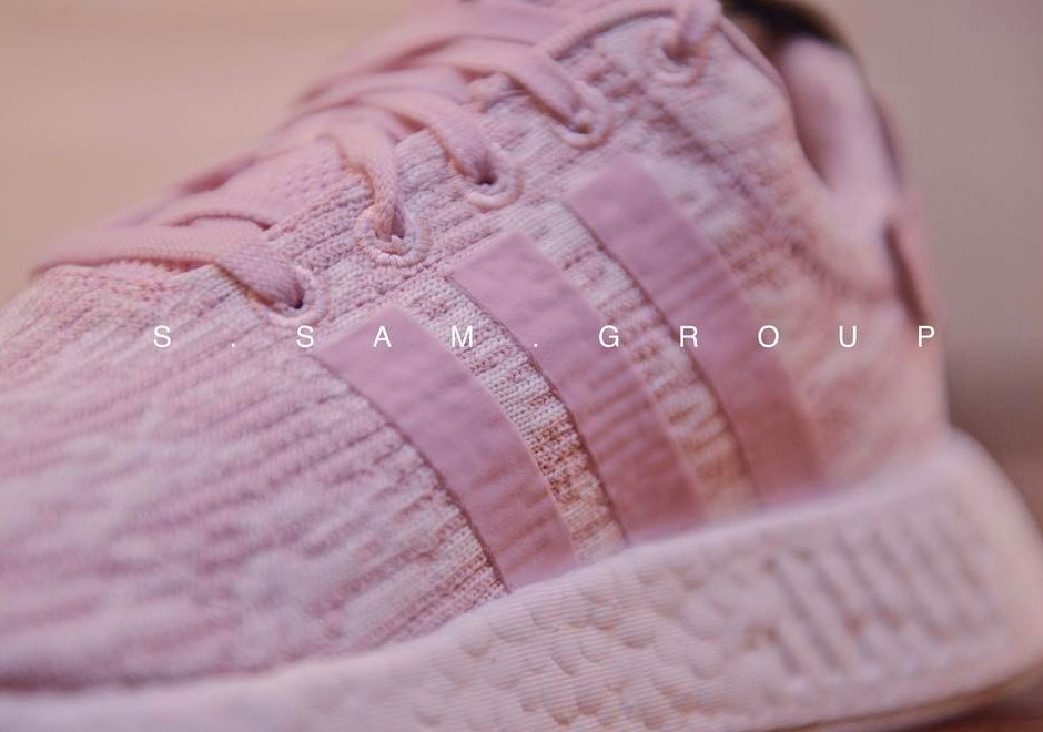 adidas NMD R2 Pink White Release Date