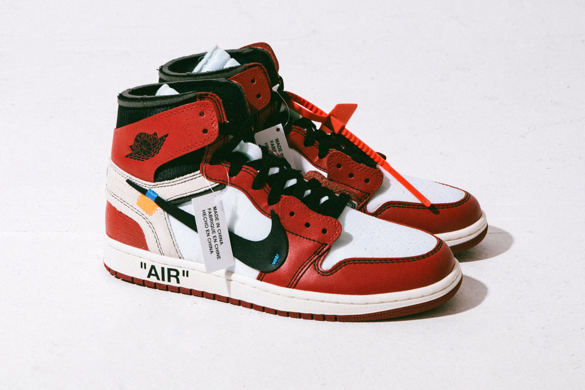 Air Jordan 1 Off-White AA3834-101
