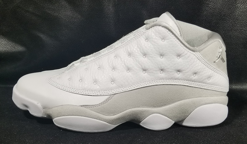 Air Jordan 13 Low Pure Money Release Date Side