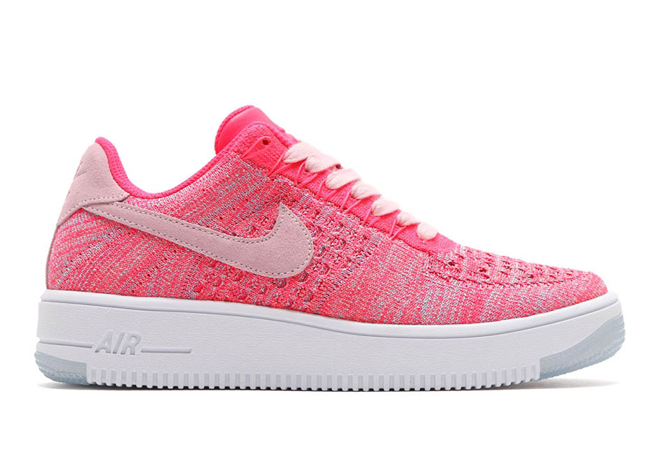 Nike Air Force 1 Flyknit Low Prism Pink