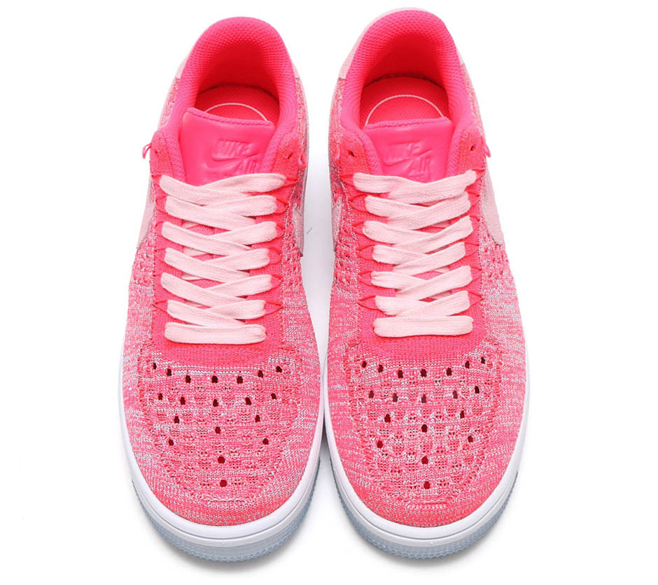 6730c3d897da ... discount nike air force 1 flyknit low prism pink 48134 c2f6f