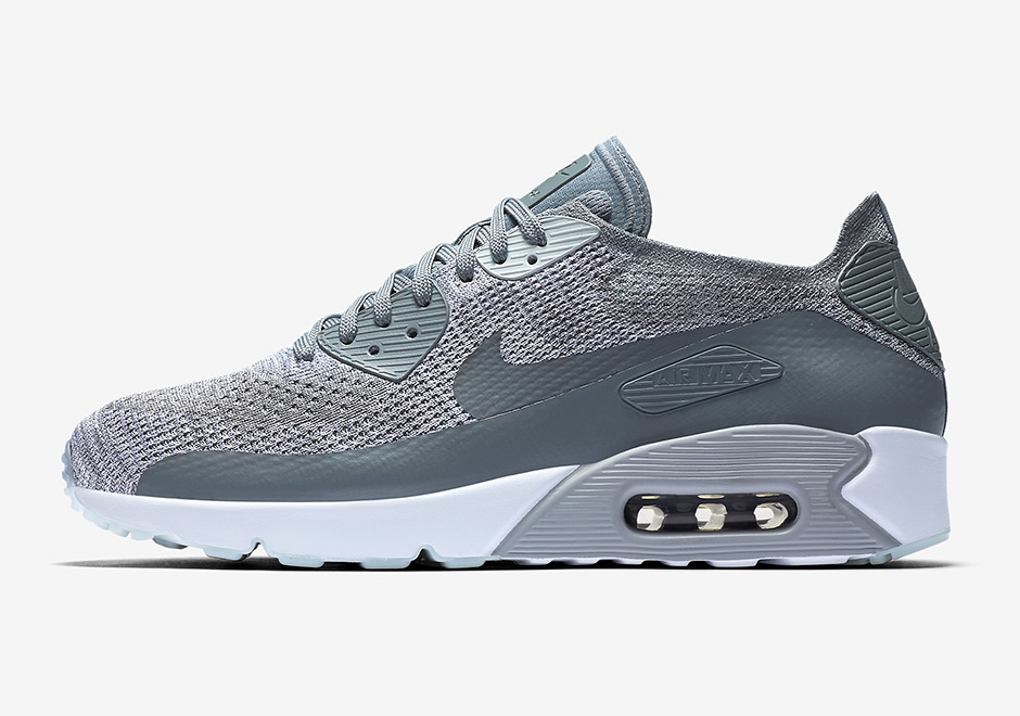 Nike Air Max 90 Ultra 2.0 Flyknit Cool Grey