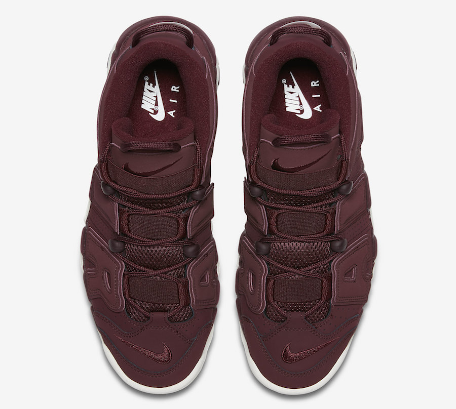 Nike Air More Uptempo Night Maroon Release Date
