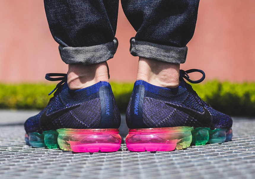 Nike VaporMax Be True On Foot