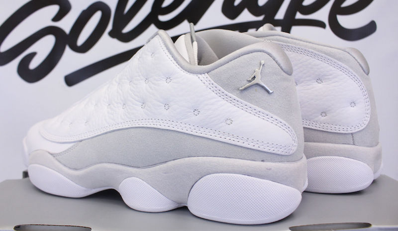 Pure Money Air Jordan 13 Low 310810-100 Release Date